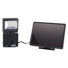 LED reflektor, solárny, s pohybovým senzorom, 6W