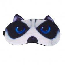 Maska na spanie: Čierny pes