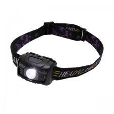 Nabíjateľná LED čelovka, PIR, 100 lm