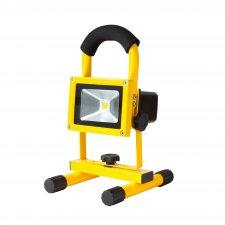 Nabíjateľný LED reflektor, 10 W, 5000 K