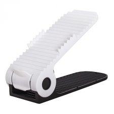 Organizér do botníku – bielo-čierny 4-stupňový