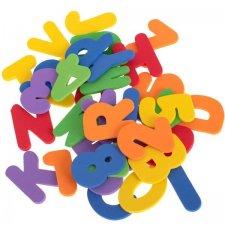 Penové Puzzle do vody: Písmena a čísla