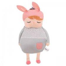 Plyšový batoh: Bábika – šedá