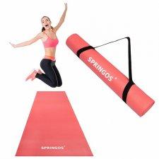 Podložka na cvičenie 173cm – neónová