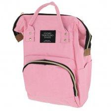 Prebalovací batoh na kočík - ružový