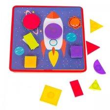 Puzzle pre deti: Geometrické tvary - 36č.