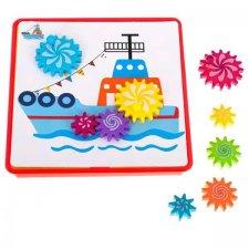 Puzzle pre deti: Ozubené kolieska - 36č.