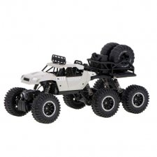 RC auto CRAWLER PICK-UP 2.4GHz 6x6 - sivé