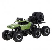 RC auto CRAWLER PICK-UP 2.4GHz 6x6 - zelené