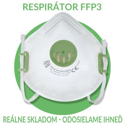 Respirátor FFP3