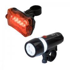 Sada LED svietidiel na bicykel