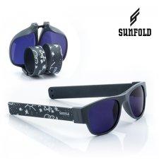 Skladacie slnečné okuliare Roll-up Sunfold ST1 - White Drawing