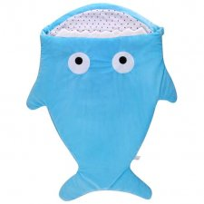 Fusak pre deti žralok - modrý