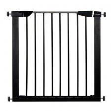 SPRINGOS Bezpečnostná bariérová zabrána pre schody a dvere - čierna - 75-82 cm