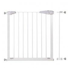 SPRINGOS Bezpečnostná bariérová zabrána pre schody a dvere - biela - 76-92 cm
