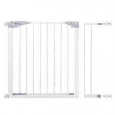 SPRINGOS Bezpečnostná bariérová zábrana pre schody a dvere - biela - 77-98 cm