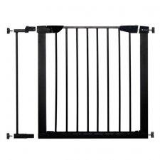 SPRINGOS Bezpečnostná bariérová zábrana pre schody a dvere - čierna - 75-89 cm