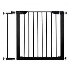 SPRINGOS Bezpečnostná bariérová zabrána pre schody a dvere - čierna - 75-89 cm