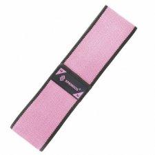 SPRINGOS Fitness guma na cvičenie Hip Band - M - 2x38 cm - ružová
