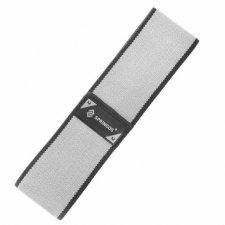 SPRINGOS Fitness guma na cvičenie Hip Band - M - 2x38 cm - sivá