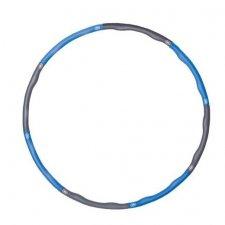 SPRINGOS Hula hop Clasic masážny sivo-modrý - 100cm