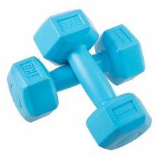 SPRINGOS Jednoručné činky 1kg modré - 2ks