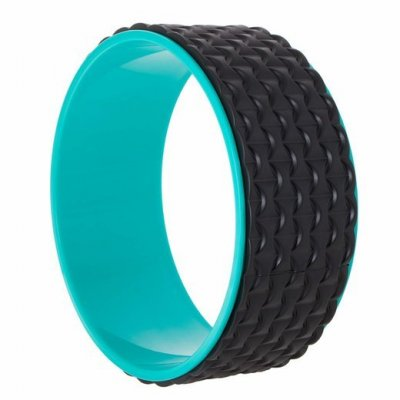 SPRINGOS Joga Pilates koleso masážne čierne-modré - 33cm