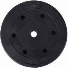 SPRINGOS Kotúč na činku 29mm - 20kg