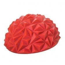 SPRINGOS Masážna balančná lopta s hrotmi - červená
