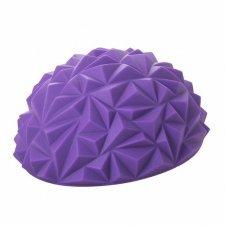 SPRINGOS Masážna balančná lopta s hrotmi - fialová