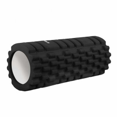 SPRINGOS Masážny valec CROSSFIT FOAM ROLLER  33 x 14 cm - čierna