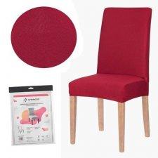 SPRINGOS Návlek na stoličku univerzálny - červený