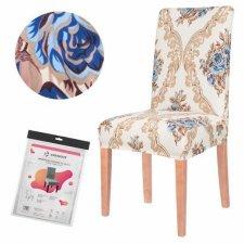 SPRINGOS Návlek na stoličku univerzálny - glamour