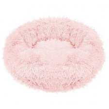 SPRINGOS Pelech pre psa a mačky plyšový 40cm - ružový