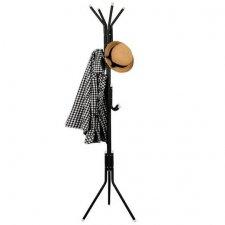 SPRINGOS Stojanový vešiak 177cm - čierny
