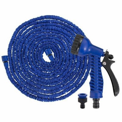 SPRINGOS Záhradná flexibilná hadica 15m - 45m - modrá