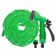 SPRINGOS Záhradná flexibilná hadica 15m - 45m - zelená