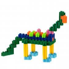Stavebný Box: 482ks + dinosaury