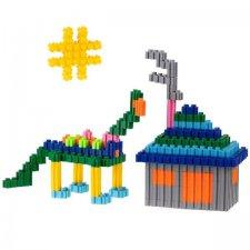 Stavebný Box: 963ks + dinosaury