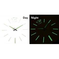 Svietiace hodiny: Paličky  50-60cm
