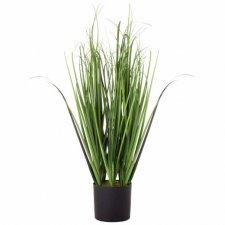 Umelá tráva v črepníku 75cm