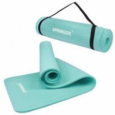 Univerzálna Fitness Yoga podložka 183cm - mätová