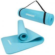 Univerzálna Fitness Yoga podložka - svetlo modrá