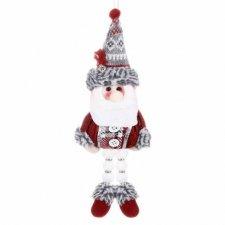 Vianočná ozdoba Mikuláš na zavesenie na stromček 27cm