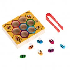Vzdelávacia hra Montessori: Plást medu