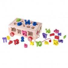 Vzdelávacia Montessori hračka Sorter: Čísla