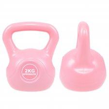 SPRINGOS Kettlebell ružový 2kg