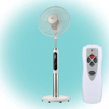 Stojanový ventilátor s 3D osciláciou - biely - 40cm - 60W