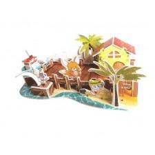 3D puzzle – Plážový dom
