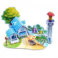 3D puzzle – Prístav s majákom